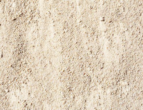 Sand gewaschen